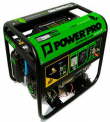 GENERADOR ELECTRICO POWER PRO DG-2500 A GAS P/MANUAL Y ELECTRICA