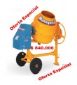 BETONERA MENEGOTTI 250 LTS.ELECTRICA MOTOR CIMA 1.5 HP