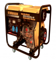 GENERADOR ELECTRICO FIRMAN KRD-7000EA-M 220 V.DIESEL