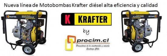 MOTOBOMBAS LONCIN - KRAFTER PROCIM S.P. A.