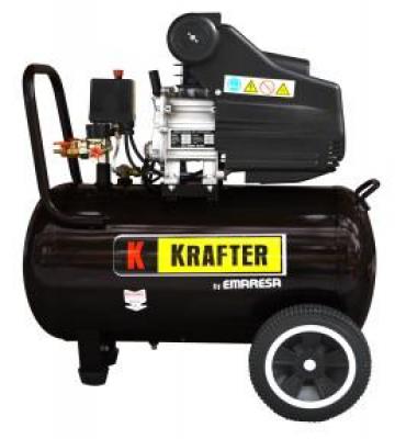 COMPRESOR DE AIRE KRAFTER 50 LTS. 2.5 HP 220 V