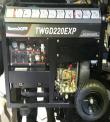 MOTOSOLDADOR TOYAMA TWGD-220 EXP DIESEL P/ELECTRICA