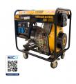GENERADOR ELECTRICO SDS SDG-6500E 5.0 KW.DIESEL 220 V. PART.ELECTRICA