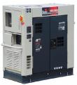 GENERADOR ELECTRICO TOYAMA 11,5 KVA 380 V.DIESEL INSONORO C/ATS