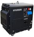 GENERADOR HYUNDAI 78DHY8000SE 6.3 KW. 220 V. DIESEL P.ELECTRICA