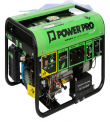GENERADOR ELECTRICO POWER-PRO DG-3000 A GAS O GASOLINA 220 VOLTS.