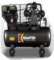MOTOCOMPRESOR KRAFTER 100 LTS. MOTOR LONCIN  5.5 HP GASOLINA