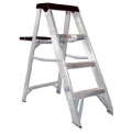Escalera Tijera Aluminio 4 Peldaños