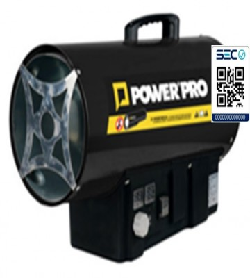 GENERADOR AIRE CALIENTE POWER PRO GHT-15 GAS