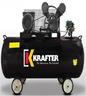COMPRESOR DE AIRE KRAFTER 300 LTS 3.0 HP 220 V.