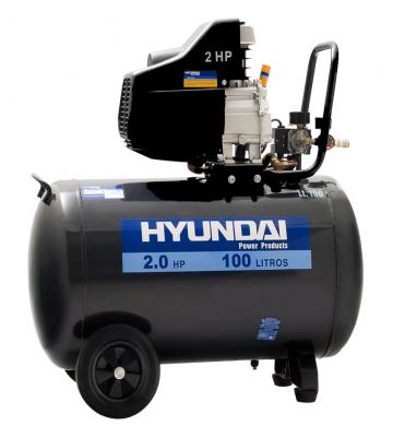 COMPRESOR DE AIRE HYUNDAI 78HYAC100D 100 LTS. 2.0 HP 220V.