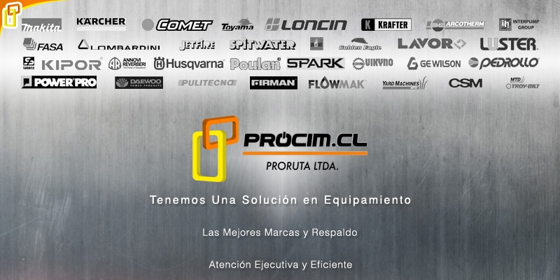 Tenemos un solución en Equipamiento PROCIM S.P. A.