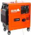GENERADOR ELECTRICO KOLVOK GS-700D 5.0 KW. INSONORO 220 VOLTS