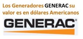 GENERADORES GENERAC VERSION GAS PROCIM S.P. A.