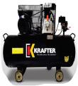 COMPRESOR DE AIRE KRAFTER 100 LTS 3.0 HP 220 V.