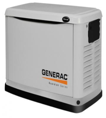 GENERADOR GENERAC HSB-8 KVA A GAS 220 VOLTS