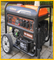GENERADOR ELECTRICO FLOWMAK LT-9000EN 220 V. GASOLINA P/ELECTRICA